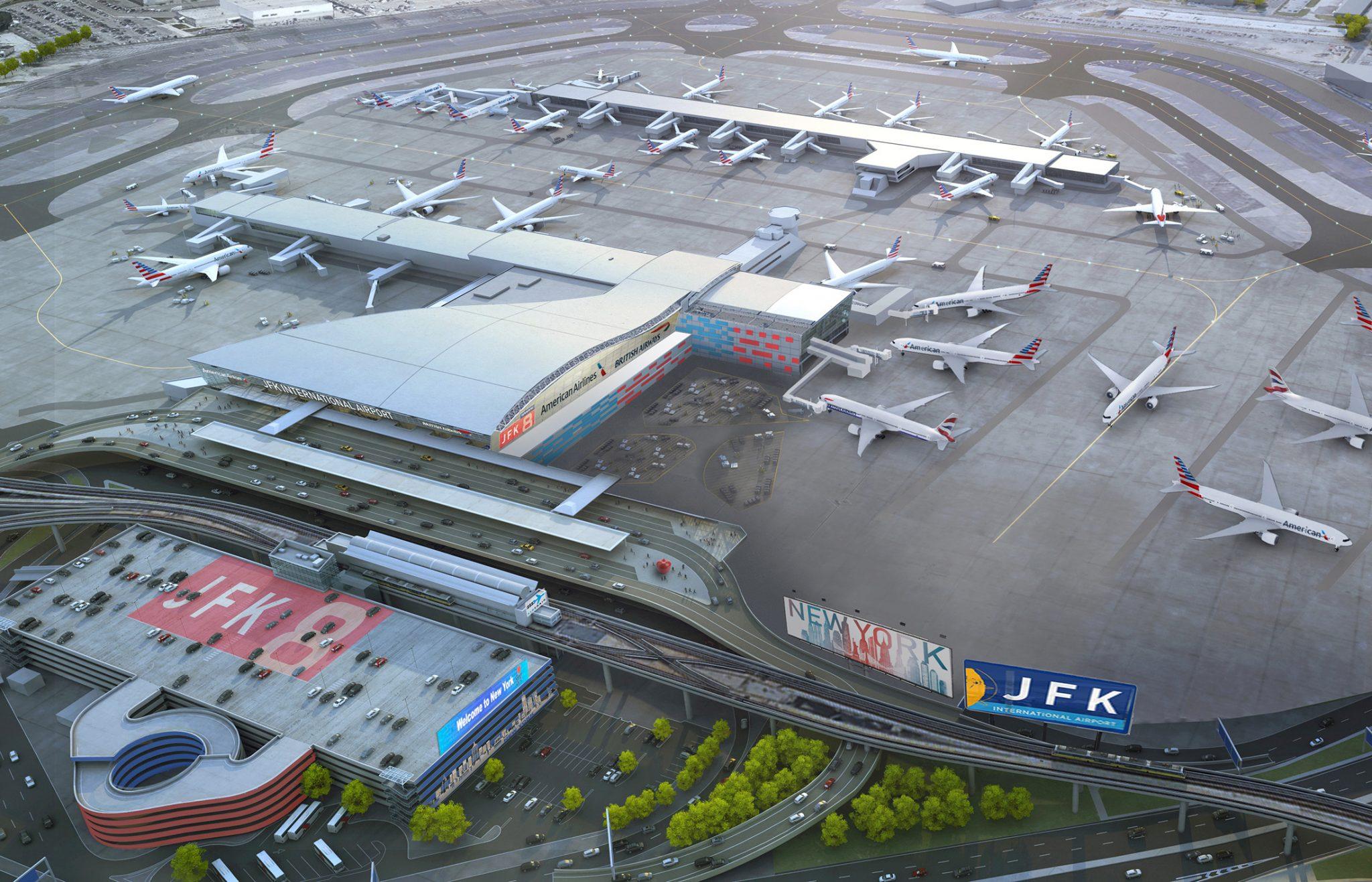 Construction begins on JFK Terminal 8 upgrade