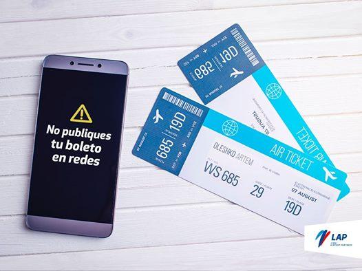 Recomiendan a pasajeros del aeropuerto Jorge Chávez no publicar tarjetas de embarque
