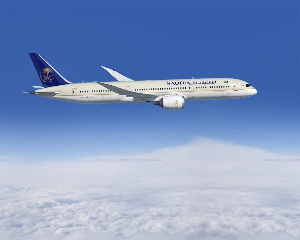 Saudia Airlines crece significativamente en 2018