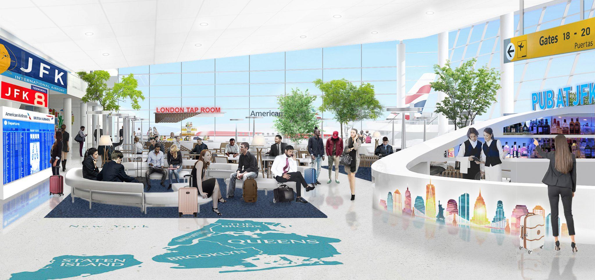 American y British Airways invierten US$ 344 millones en el aeropuerto JFK