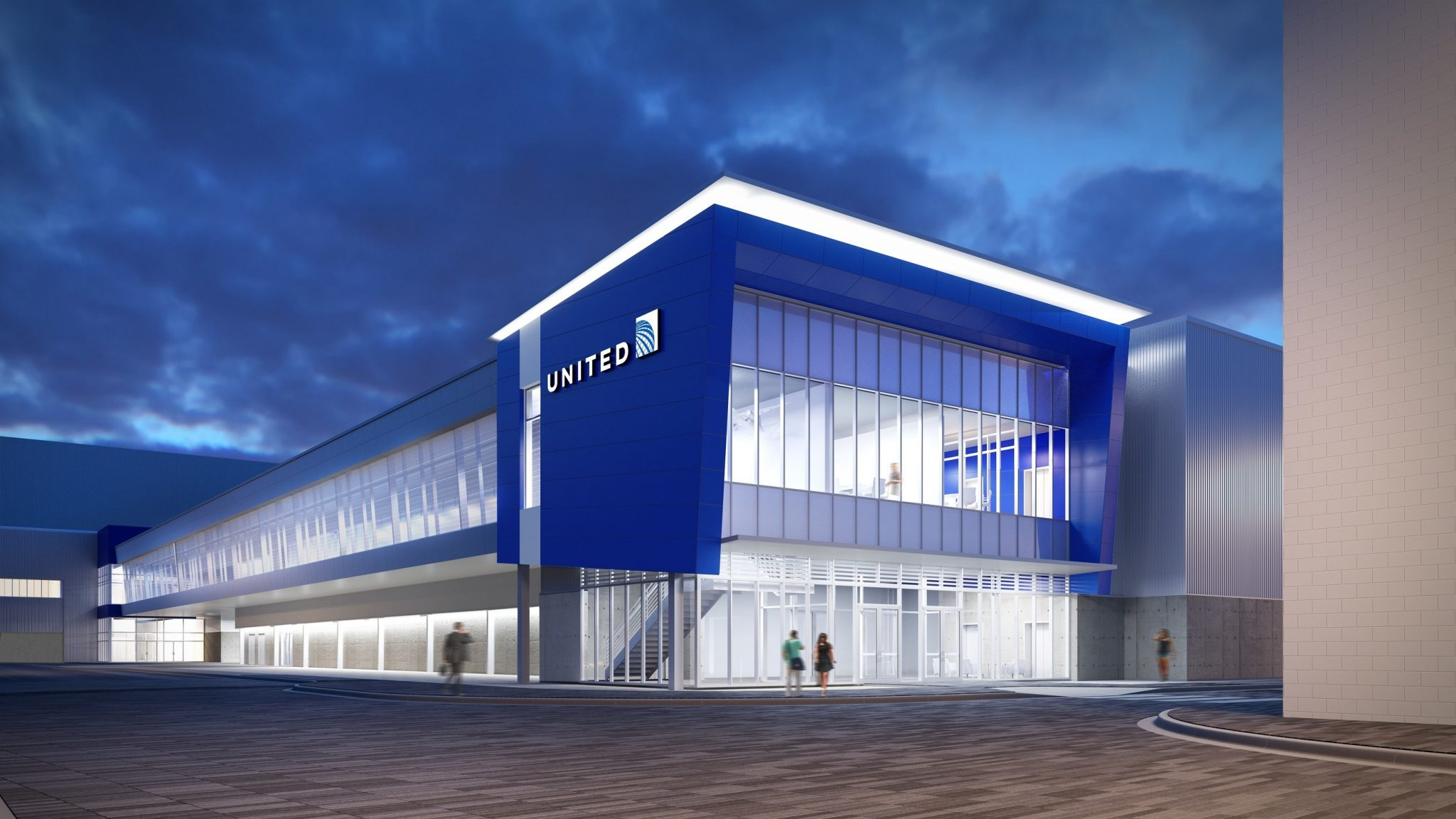 United Airlines Commences Construction On New Technical