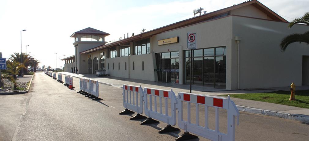 Chile: Un 40% disminuyeron vuelos desde Aeropuerto La Florida de La Serena