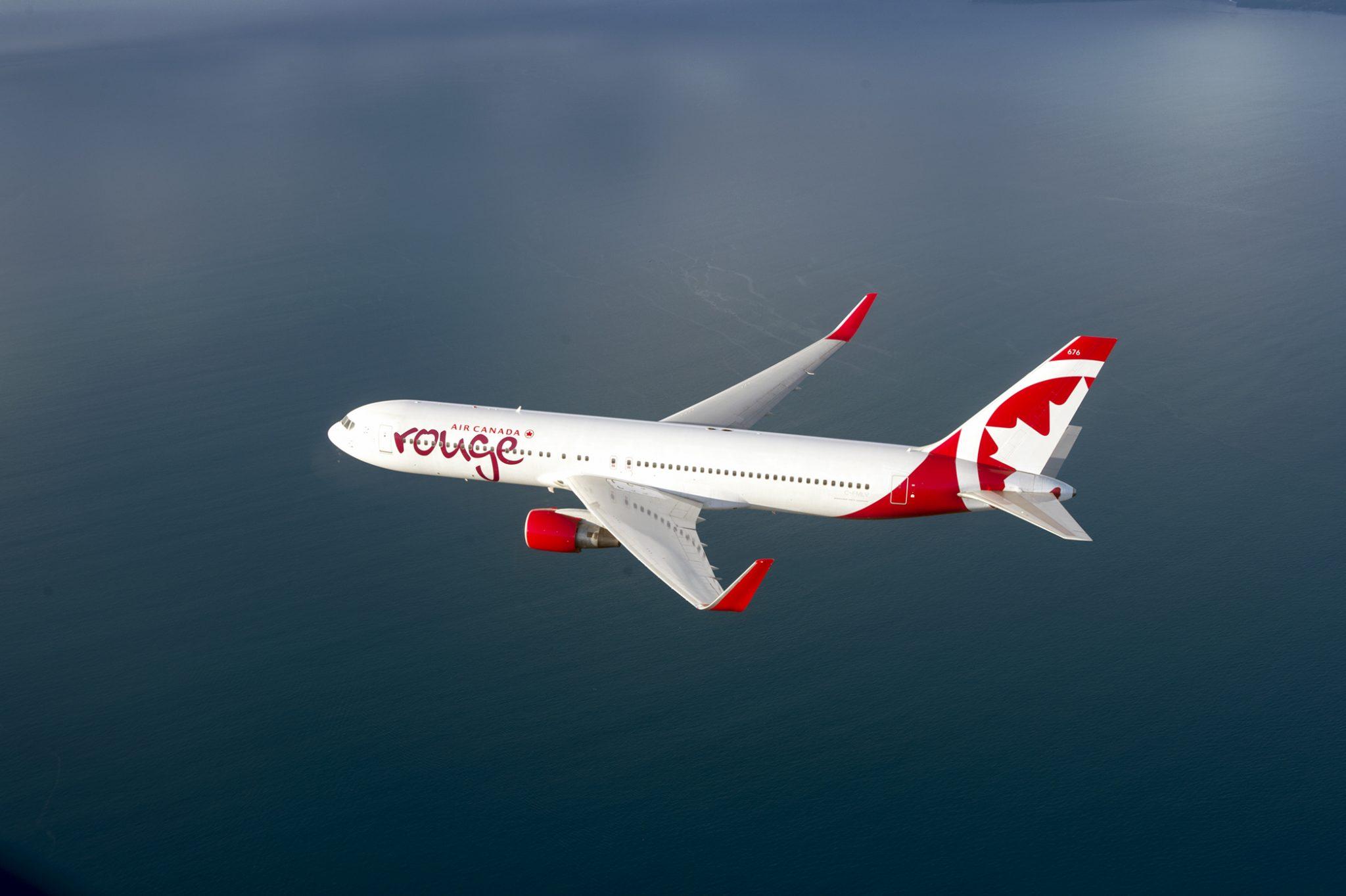 Air Canada Rouge está de regreso con la ruta Toronto-Cancún