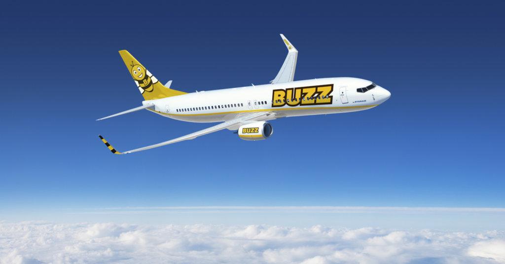 Aerolínea Ryanair Sun se transformará en «Buzz»