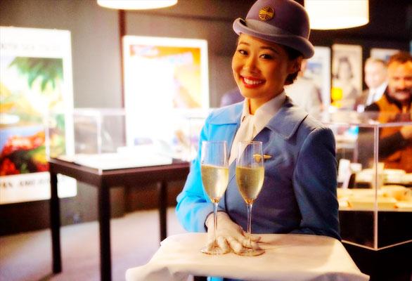 Pan Am: El restaurante que revive la época dorada de la aviación