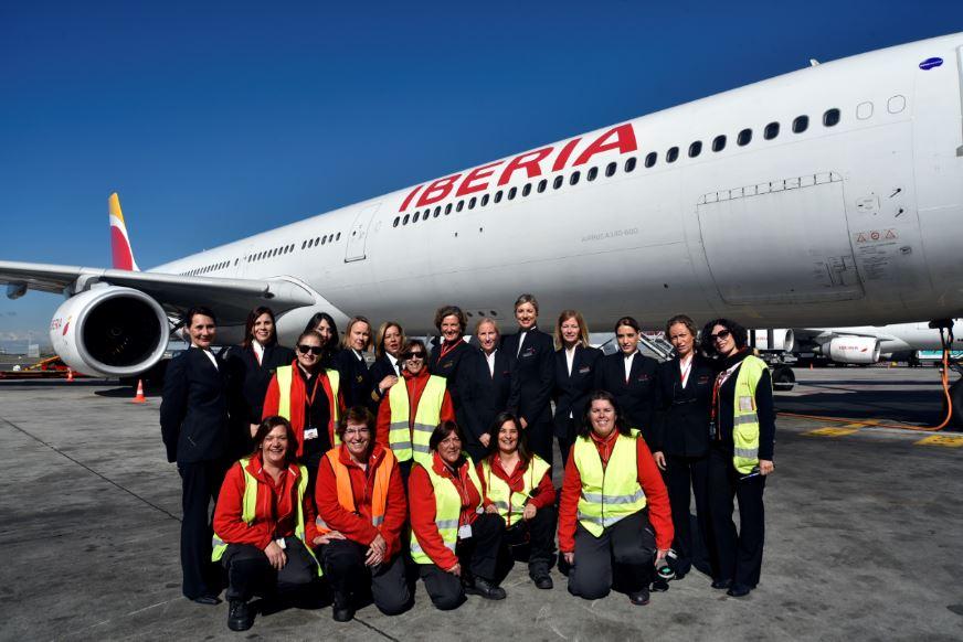 Iberia puso en marcha diversas iniciativas para dar visibilidad al talento femenino