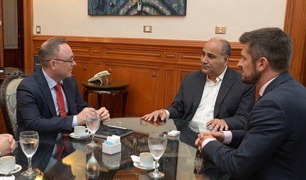 Gobernador de Tucumán recibió al CEO de Norwegian Air Argentina