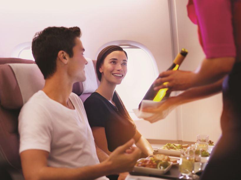 Qantas obtuvo 6 medallas de oro «Cellars in the Sky» 2018 por su variedad de vinos a bordo