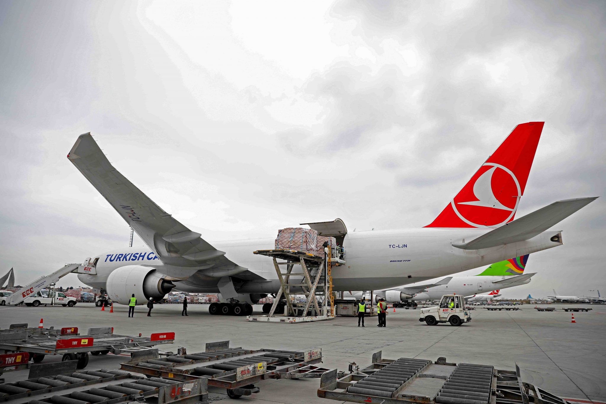Turkish Cargo patrocinó el transporte de piezas históricas a Japón