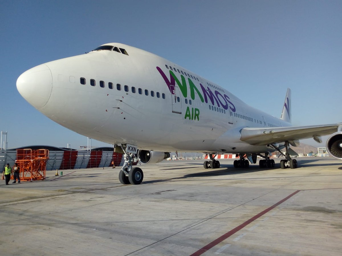 IATA WCS: Jettainer starts WAMOS Air contract and wins cool American deal