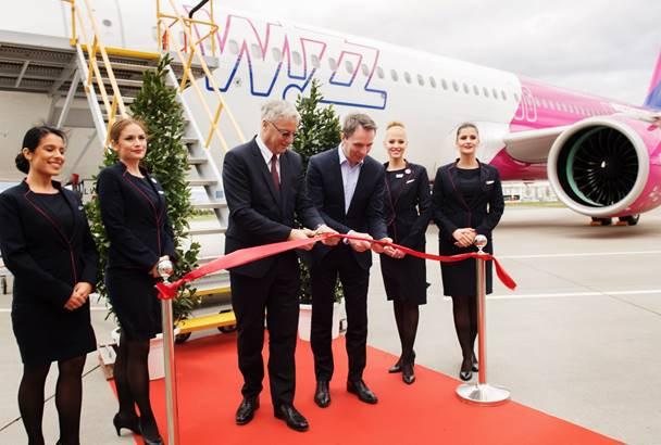 Wizz Air recibió su primer A321neo