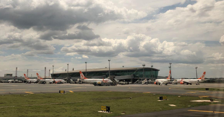 Movimento internacional cresce 18% no Aeroporto de Brasília