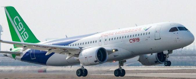 El complicado despegue de los aviones 'made in China'