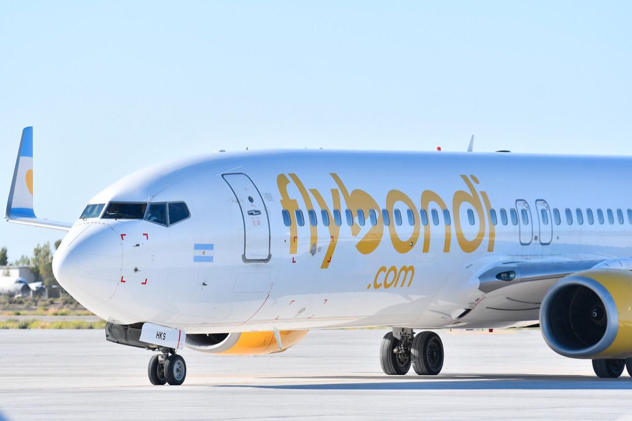 Flybondi cumplió tres años y ha transportado a más de 2.7 millones de pasajeros