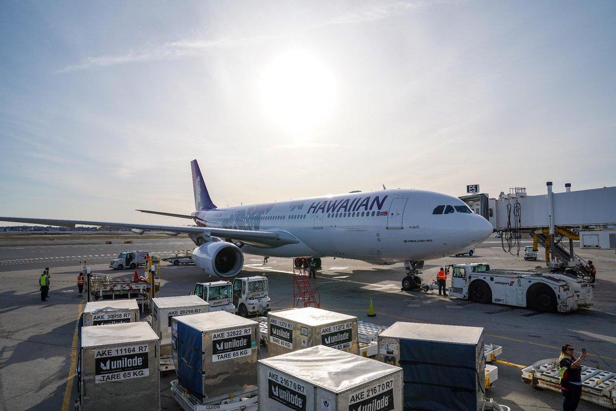 Hawaiian Airlines inauguró el vuelo más largo dentro de los Estados Unidos