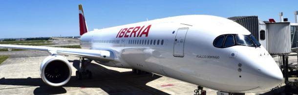 El A350-900 de Iberia aterriza en Chicago por primera vez