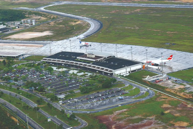Infraero iniciasegunda etapa dasobrasda pistado Aeroporto de Manaus