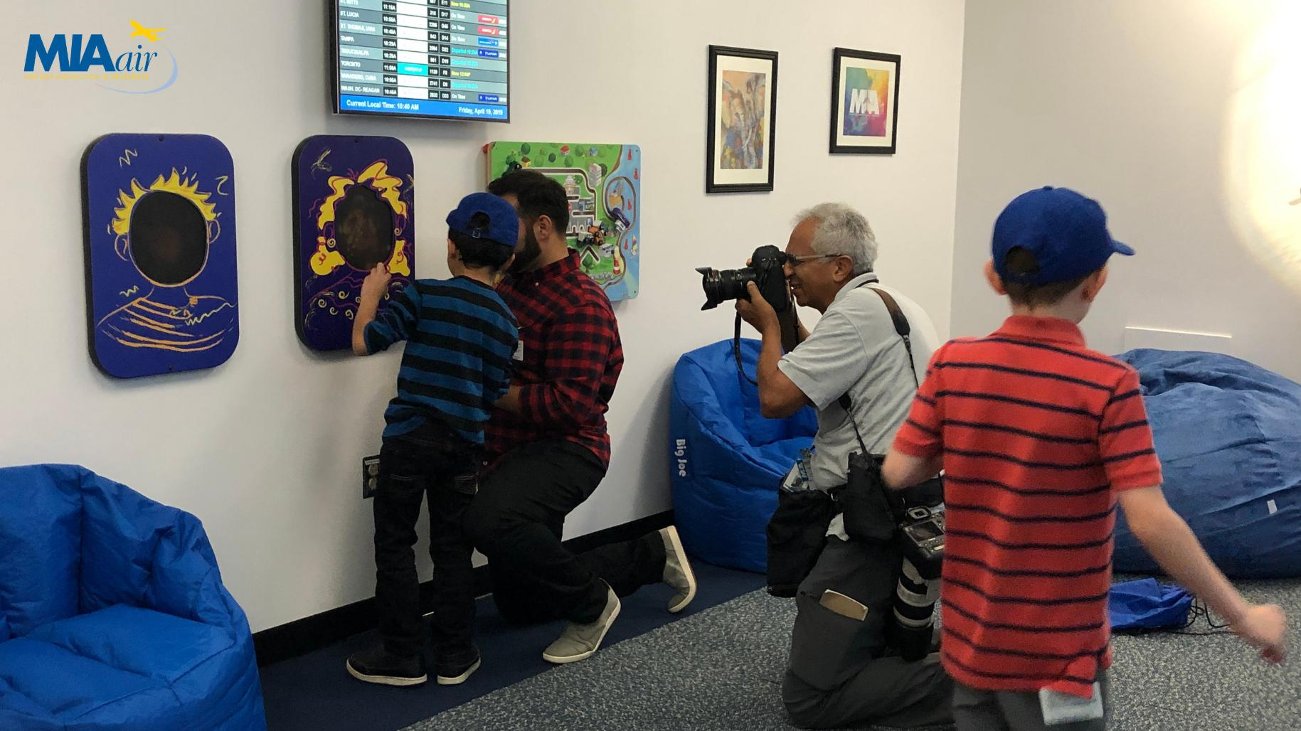 Miami Int'l Airport Opens Its First Multi-Sensory Room For Kids With Autism