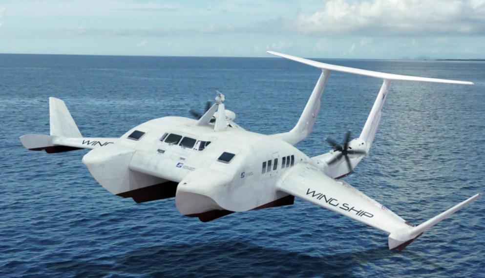 Proponen usar 'barcos voladores' para conectar las dos capitales canarias