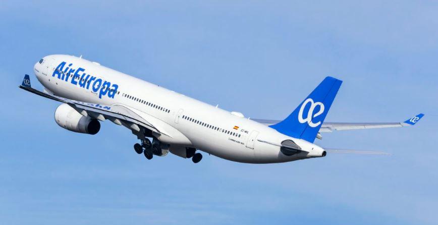 Air Europa decidió cancelar sus vuelos desde Argentina con destino a Italia