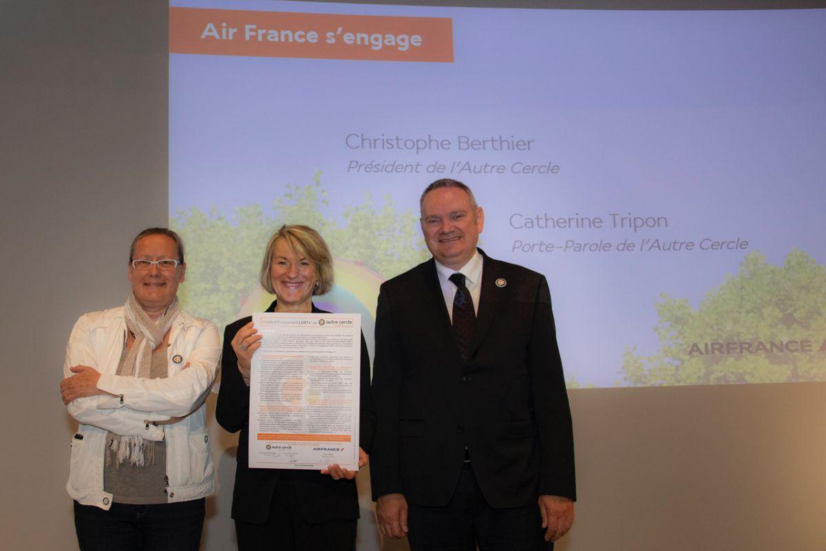 Air France confirma su compromiso con la inclusión y el respeto de la diversidad