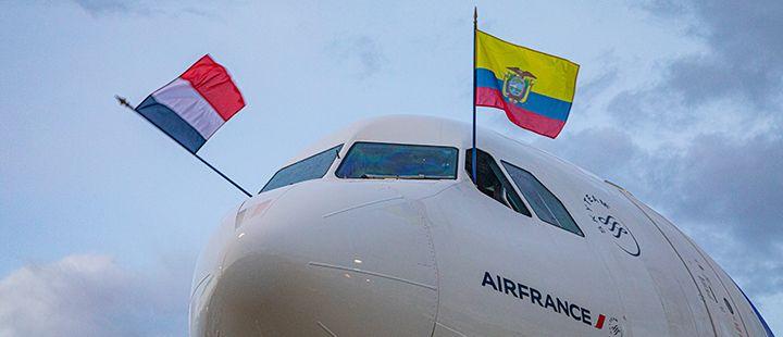 Air France regresó a Ecuador tras 25 años