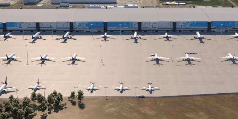 Amazon construye su propio 'aeropuerto' para dejar de depender de las compañías
