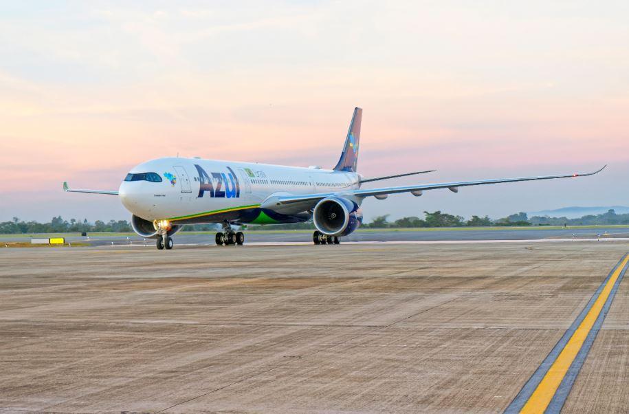 Azul faz primeiro voo com Airbus A321neo