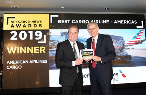 American Airlines Voted Best Cargo Airline — Americas for 11th Consecutive Year