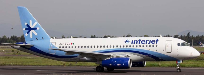 Interjet venderá veinte Sukhoi Superjet 100