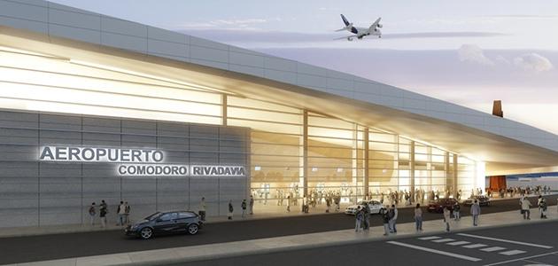 Argentina: Llega Dietrich a Comodoro para inaugurar la nueva etapa del Aeropuerto