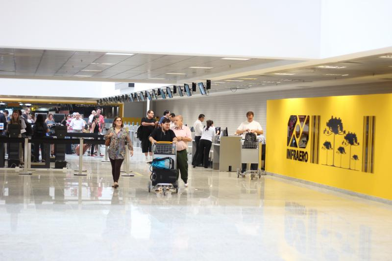 Administrado pela Infraero, passageiros apontam Afonso Pena como o segundo melhor do Brasil