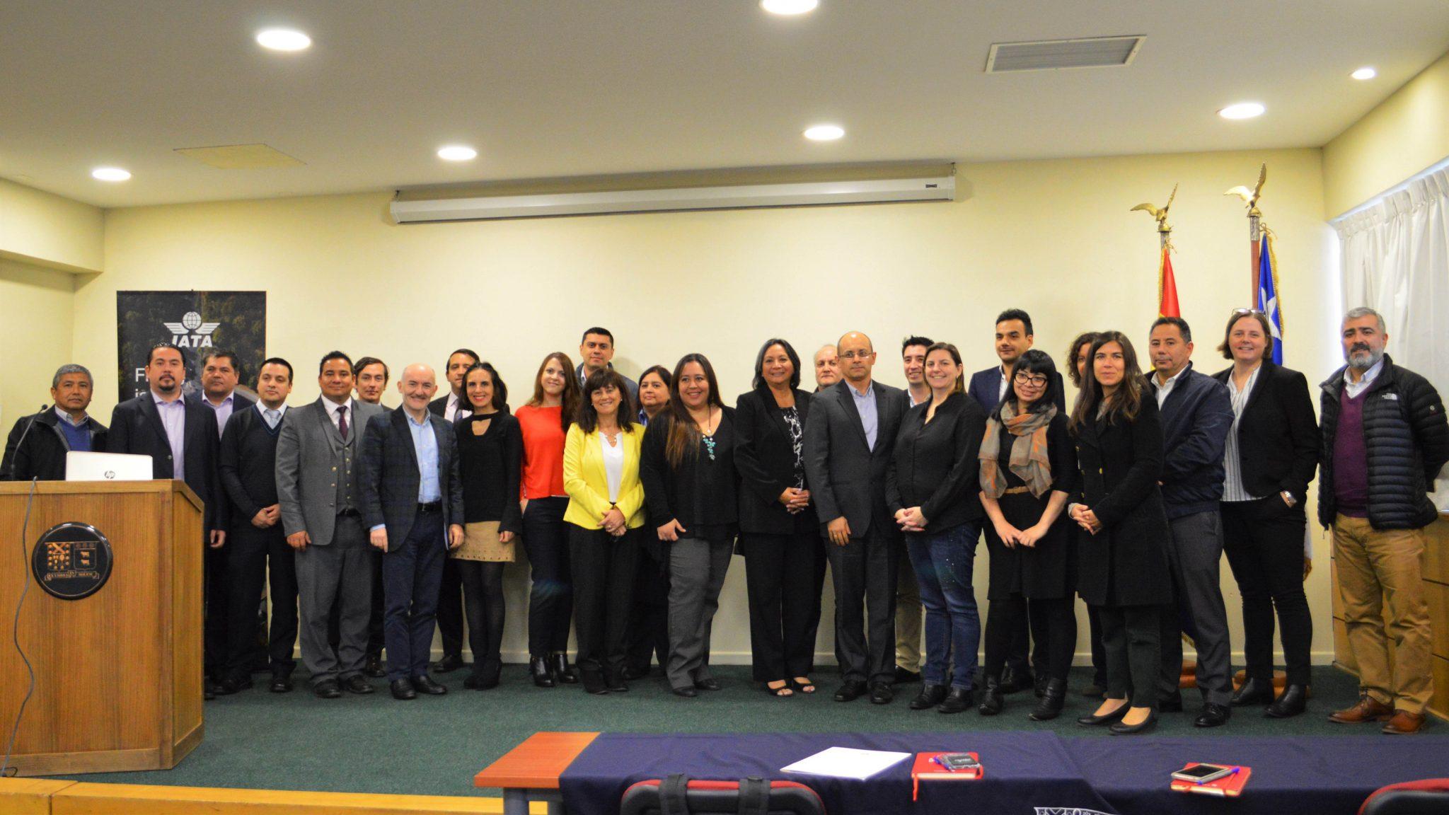 """Chile: Industria aérea se reunió en la primera reunión del """"Grupo de Prevención de Fraude"""""""