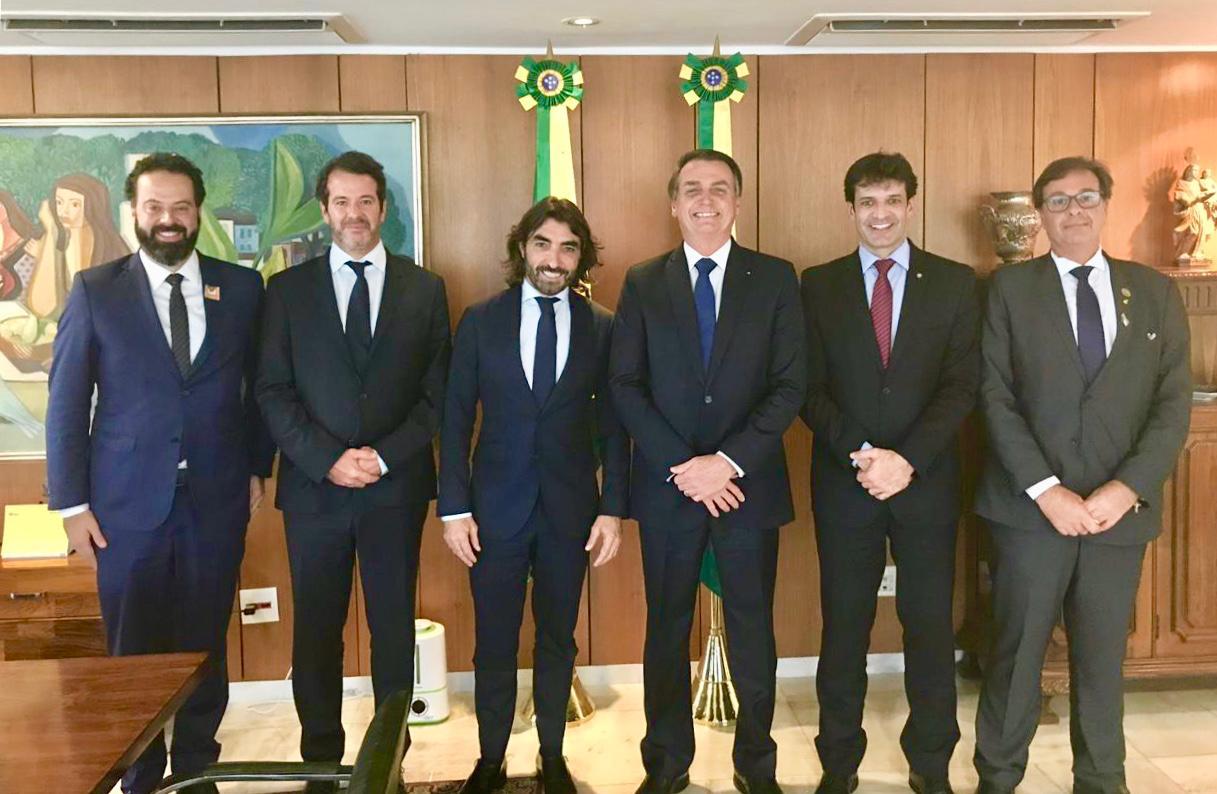 CEO da Air Europa se reúne com MTur e Bolsonaro em Brasília