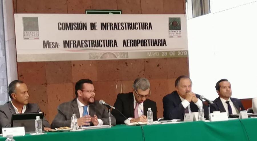 México: Celebran mesa de Infraestructura Aeroportuaria en la Cámara de Diputados