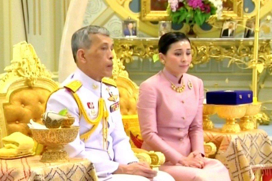 Suthida Tidjai, la nueva reina de Tailandia que conoció al rey cuando era azafata de avión