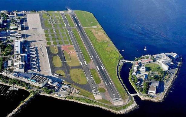 Airbus A320 realiza primera operación comercial en el Santos Dumont; 1320 metros de pista