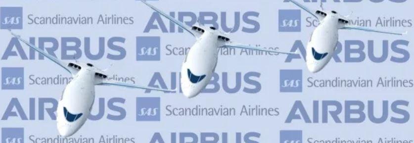 Airbus y SAS investigarán la viabilidad de los aviones híbridos y eléctricos