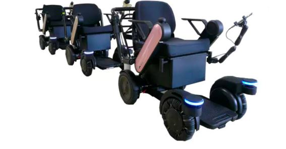 Un aeropuerto nipón prueba sillas autónomas para llevarnos de una terminal a otra