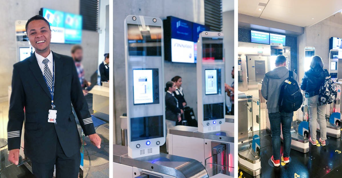 Finnair starts Biometric Boarding with Vision-Box at Los Angeles International Airport