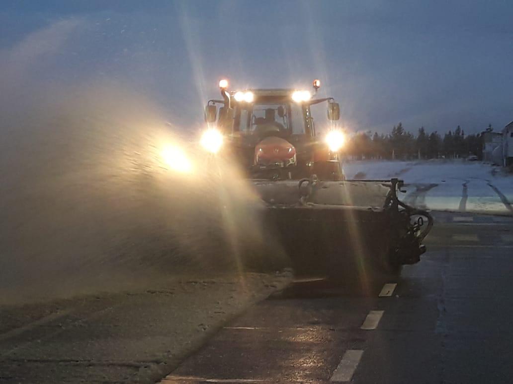 """Argentina: """"Programa de Control de Hielo y Nieve"""" 2019 está listo para garantizar la temporada invernal"""