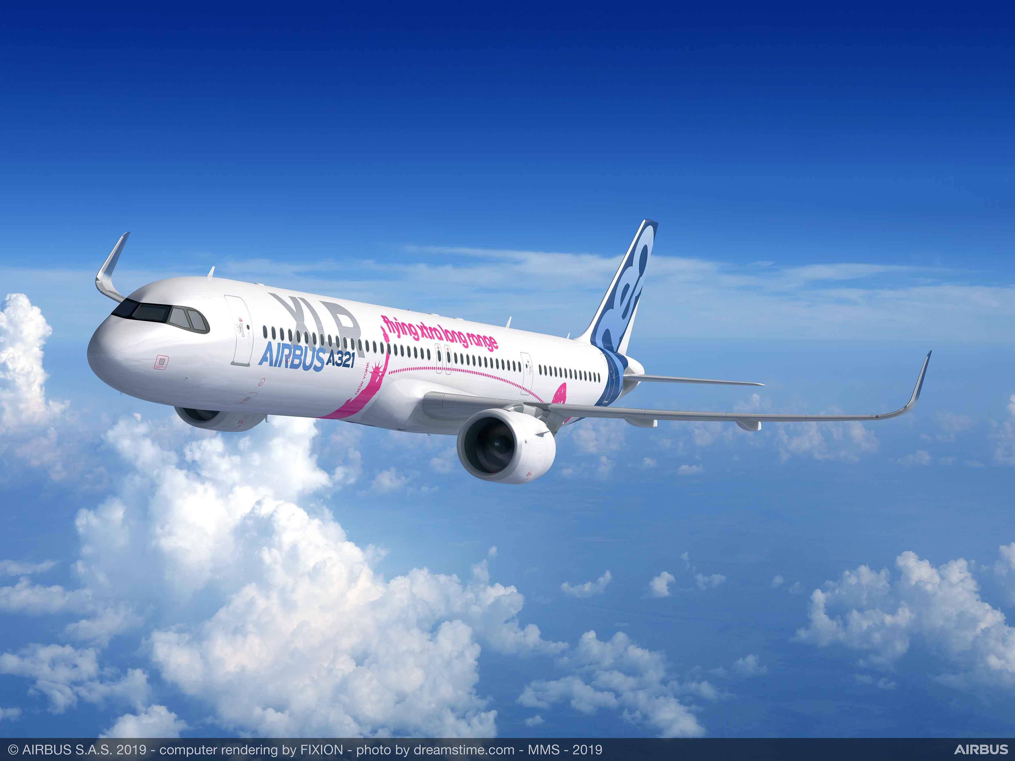 Airbus presentó el A321XLR: el avión de un solo pasillo de mayor alcance