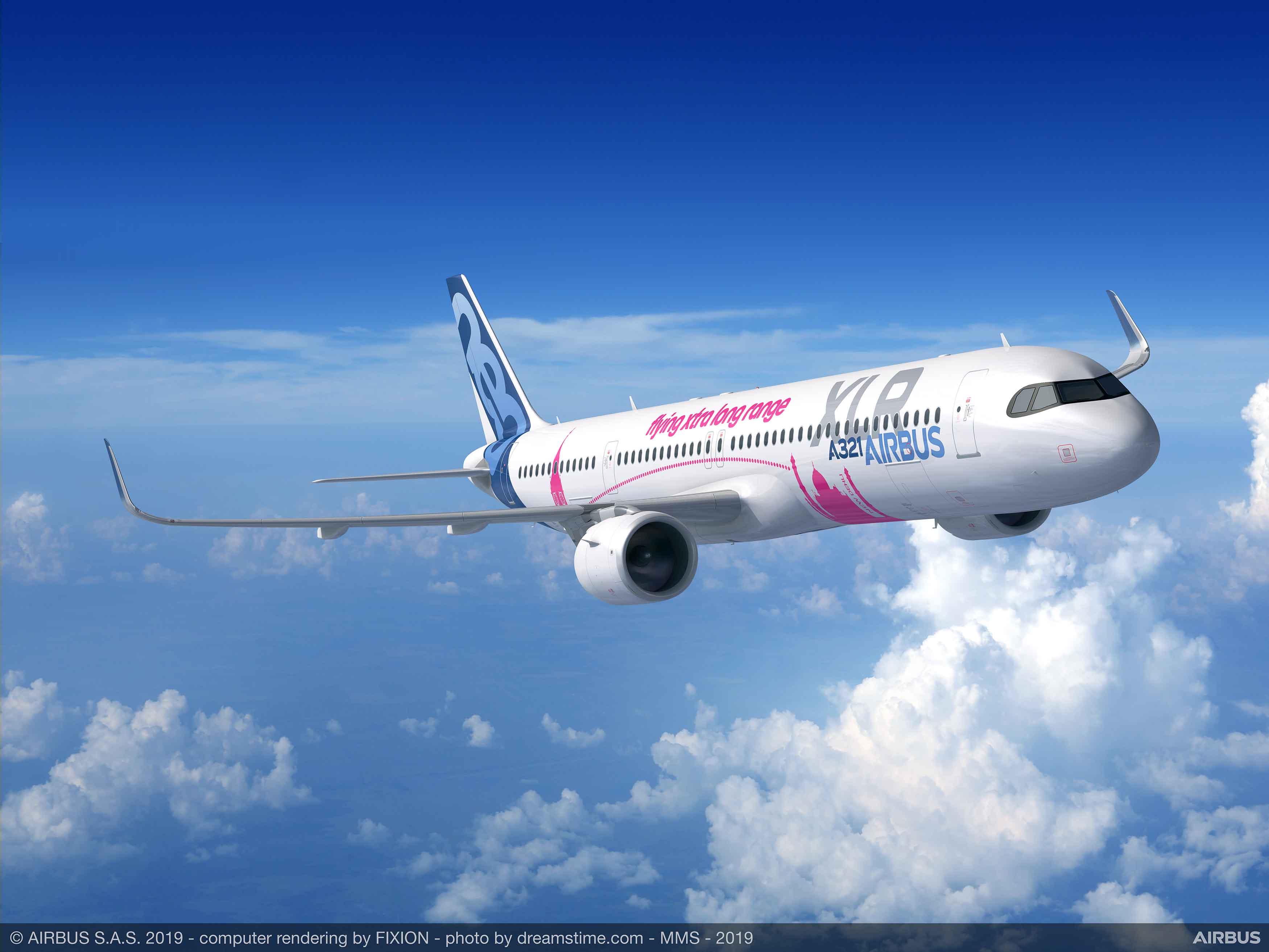 8 nuevos Airbus A321XLR para Iberia