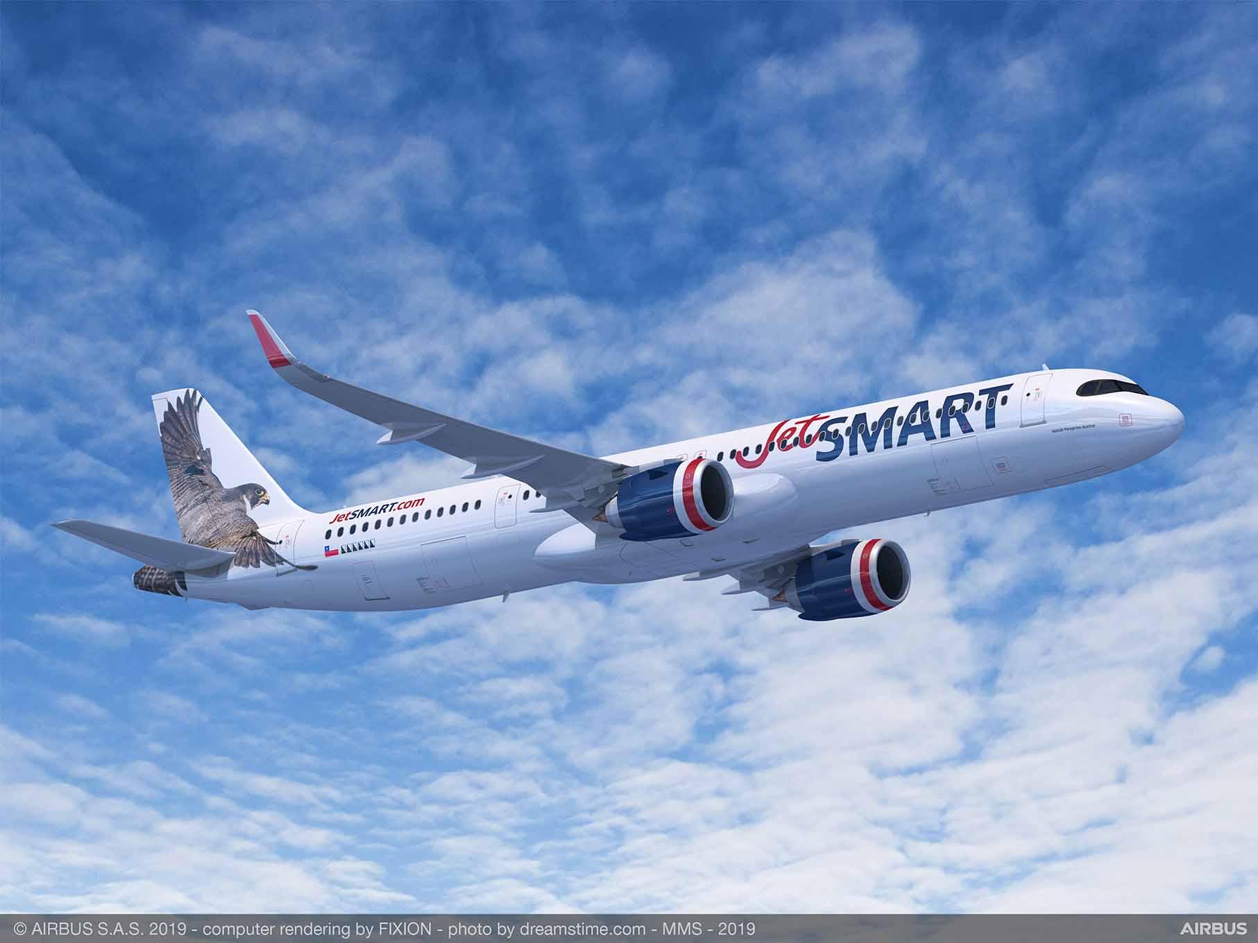 JetSMART lidera ránking sudamericano como la aerolínea con flota de aviones más jóvenes