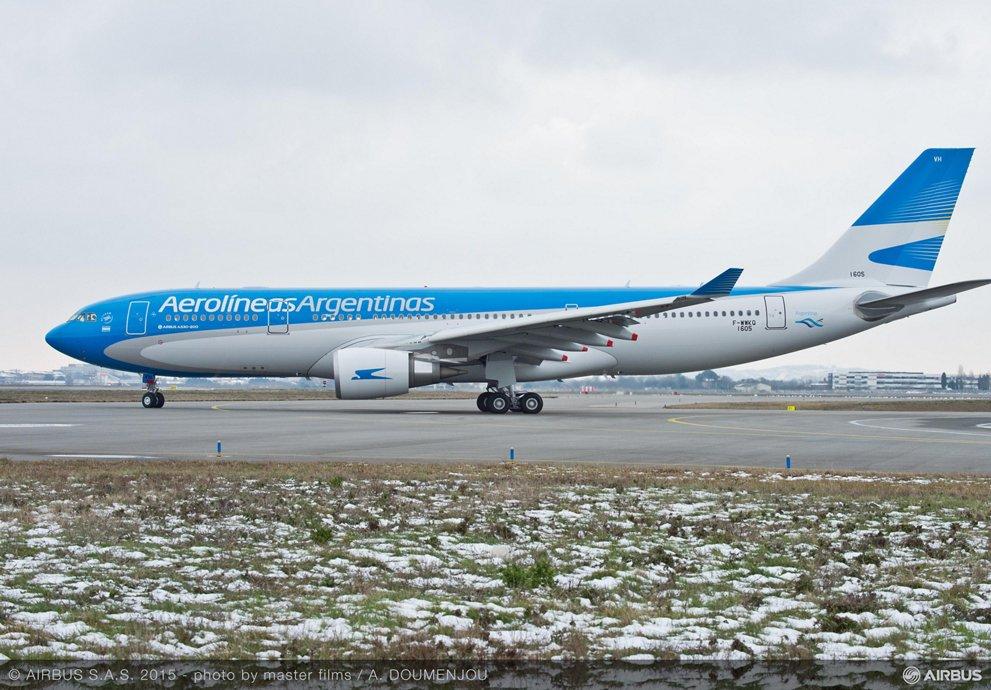 Acerca de las operaciones de Aerolíneas Argentinas a México, Brasil y Chile