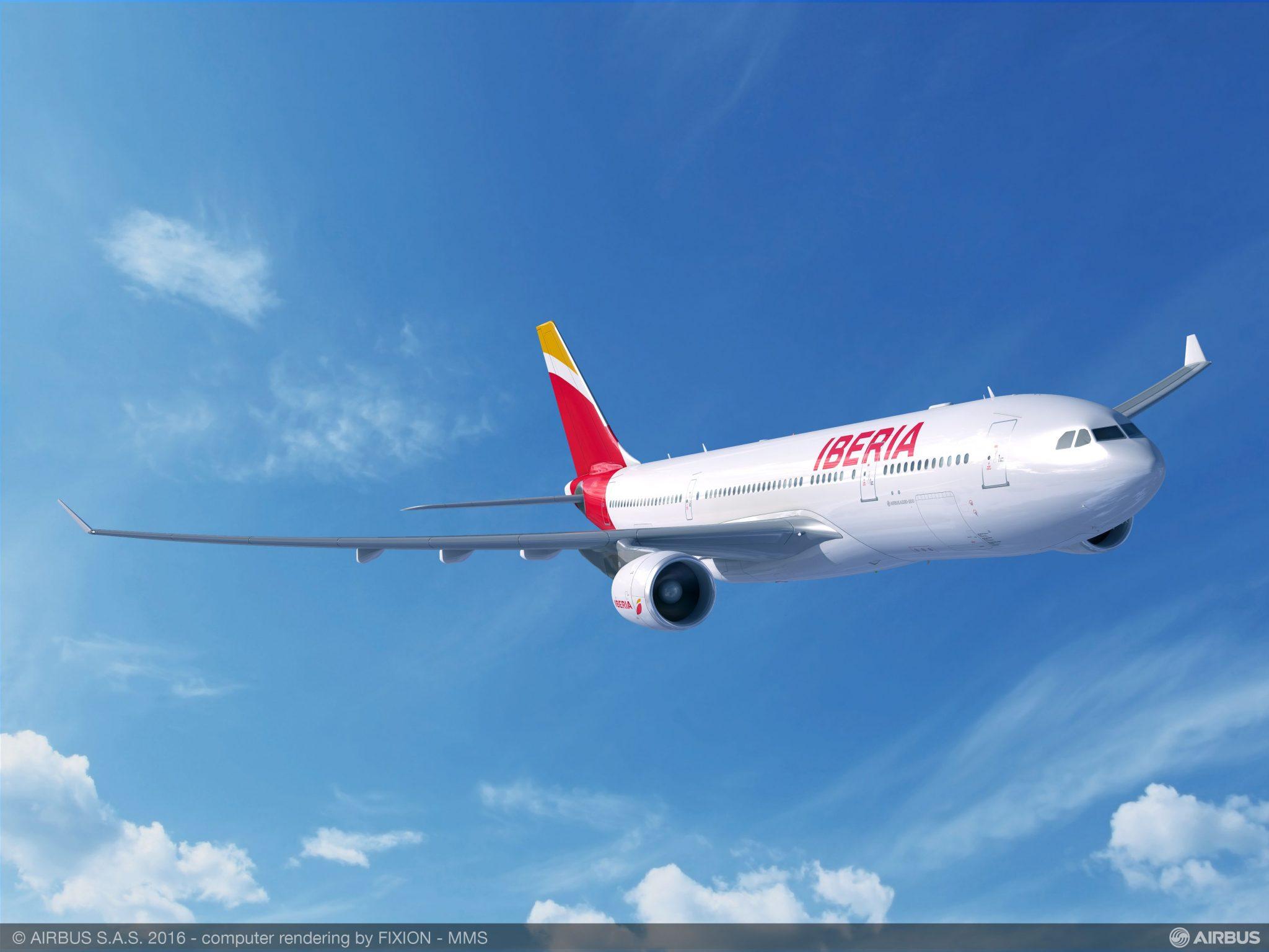 Iberia incrementa de 2 a 5 sus vuelos entre Madrid y Montevideo