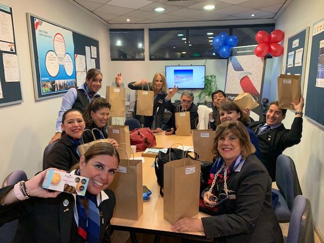 American Airlines Chile celebró el Día Internacional del Tripulante de Cabina