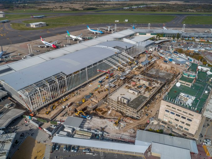 Tras la ampliación, el aeropuerto de Ezeiza recibirá el triple de pasajeros