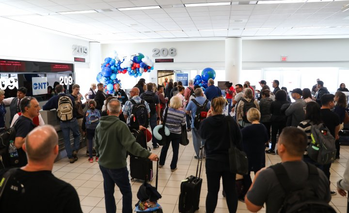 Ontario International Airport continued strong growth in passenger and cargo volume in May