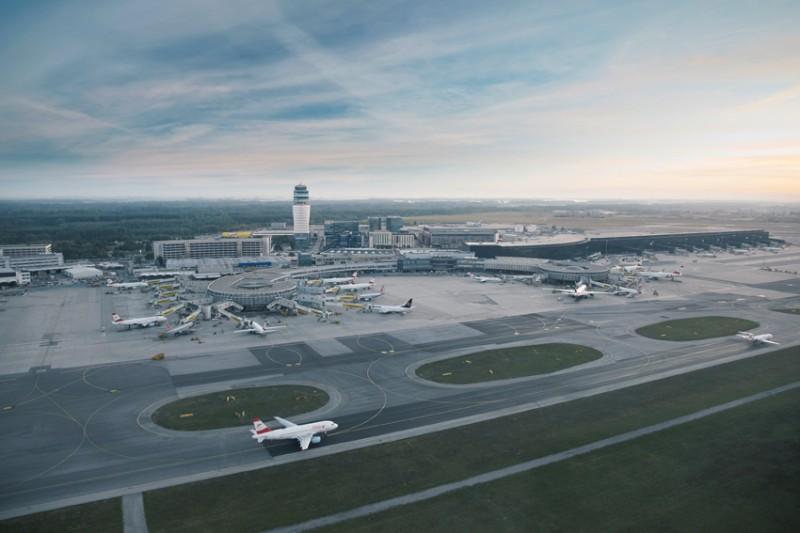 Aeropuerto de Viena neutralizará emisiones CO2 en 2030